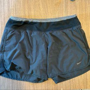 Nike Running Stretch Waist Shorts Black Gray Med